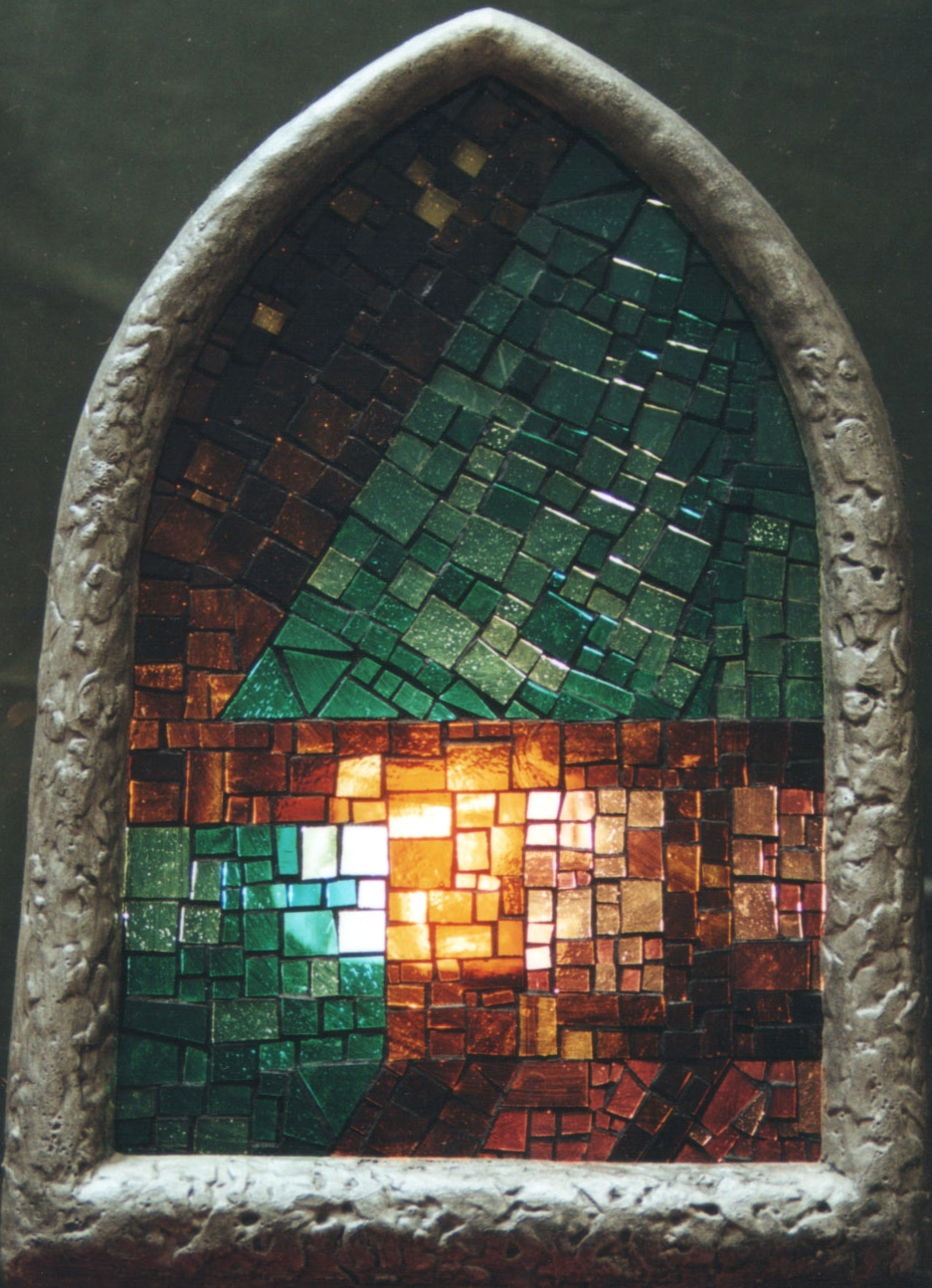 Mozaikové světlo I