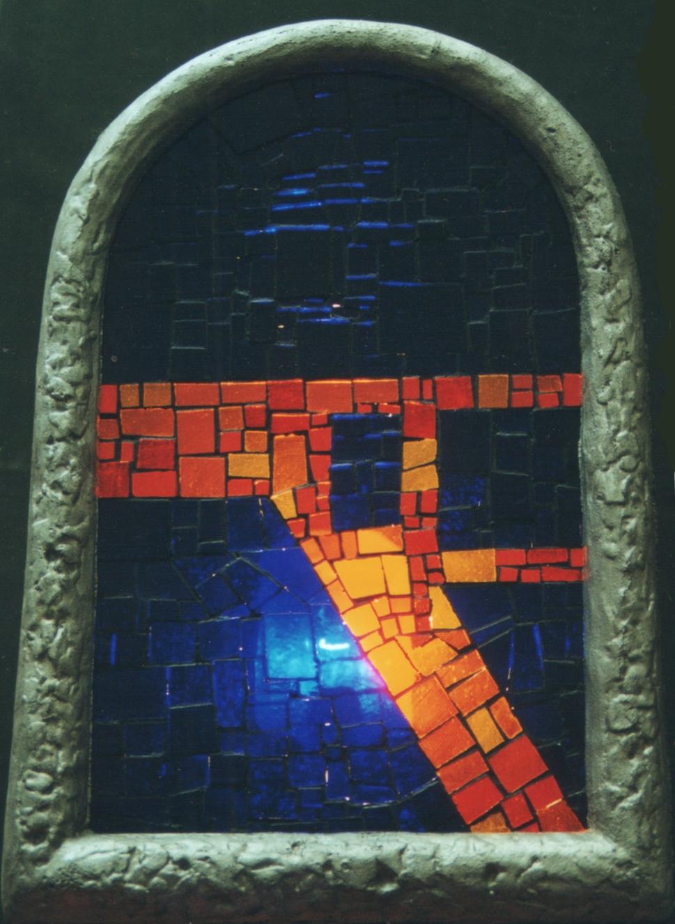 Mozaikové světlo III