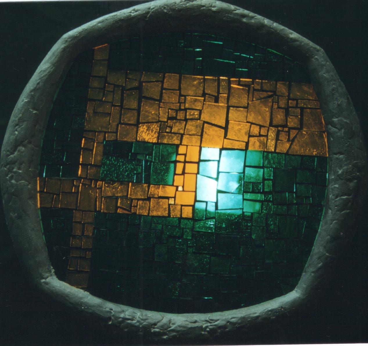 Mozaikové světlo IV